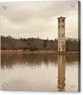 Furman Bell Tower 4 Acrylic Print