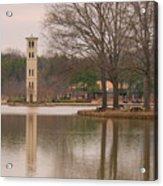 Furman Bell Tower Acrylic Print