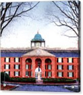Furman University Judson Hall  Acrylic Print