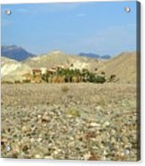 Furnace Creek Inn Acrylic Print