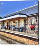 Furnace Sidings Railway Station 2 Acrylic Print