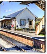 Furnace Sidings Railway Station Acrylic Print