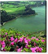 Furnas Lake Azores Acrylic Print