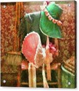 Furniture - Chair - Bonnets  Acrylic Print