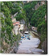 Furore Italy Acrylic Print