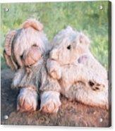 Furry Friends Acrylic Print