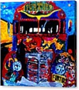 50th Anniversary Further Bus Tour Acrylic Print