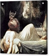 Fuseli: Nightmare, 1781 Acrylic Print