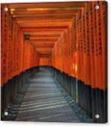 Fushimi Inari Taisha Shrine In Kyoto, Japan Acrylic Print