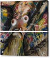 Fusion II - Diptych Acrylic Print