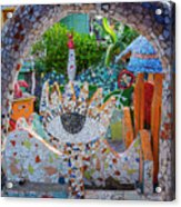Fusterlandia Havana Cuba Acrylic Print