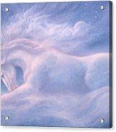 Future Dreaming Unicorn Acrylic Print