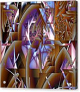 Future Gothic Acrylic Print