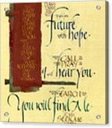 Future Hope I Acrylic Print