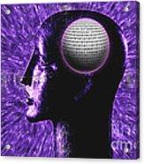 Futuristic Communications Acrylic Print