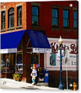 G Willikers Toy Shoppe Acrylic Print