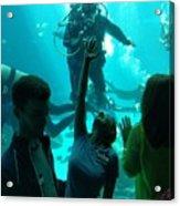 Ga Aquarium Scuba Acrylic Print