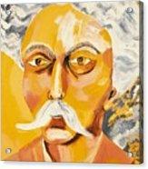 Gabriel Faure Portrait Acrylic Print