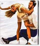 Gabriella Papadakis And Guillaume Cizeron Acrylic Print