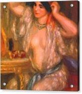 Gabrielle At The Mirror 1910 Acrylic Print