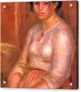 Gabrielle Seated Acrylic Print