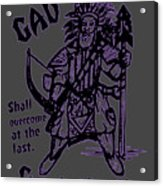 Gad At The Last-purple Trim Acrylic Print