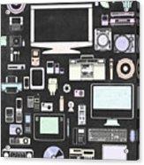 Gadgets Icon Acrylic Print