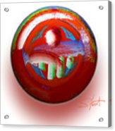 Gaeia Acrylic Print