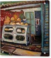 Gajak Sweet Shop Orchha Acrylic Print