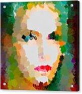 Gal Hotty Totty Acrylic Print