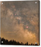 Galactic Center Acrylic Print