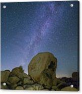 Galactic Desert Acrylic Print