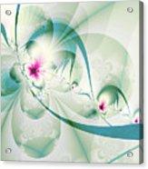 Galactic Flower Acrylic Print