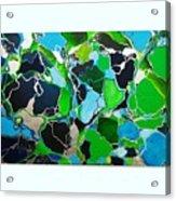 Galactic Puzzle Acrylic Print