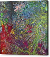 Galactic Spring_by Aatmica Acrylic Print