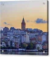 Galata Tower In The Morning. Acrylic Print