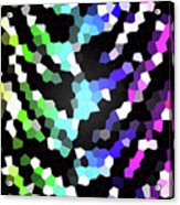 Galaxy In Time Abstract Design Acrylic Print
