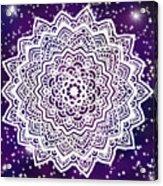 Galaxy Mandala Acrylic Print