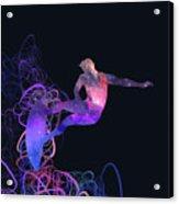 Galaxy Surfer 3 Acrylic Print