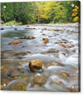 Gale River - Franconia New Hampshire  Acrylic Print