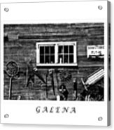 Galena Antiques Acrylic Print