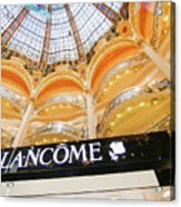 Galeries Lafayette Inside 2 Art Acrylic Print