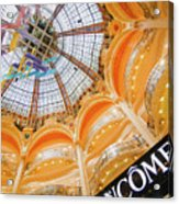 Galeries Lafayette Inside Art Acrylic Print
