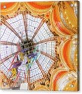 Galeries Lafayette Inside 4 Art Acrylic Print