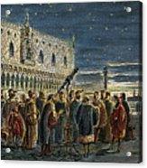 Galileo Galilei, 1564-1642 Acrylic Print