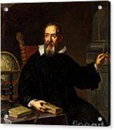Galileo Galilei, Italian Astronomer Acrylic Print