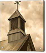 Galisteo Church, New Mexico Acrylic Print