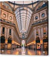 Galleria Milan Italy II Acrylic Print