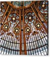 Gallery Lafayette Ceiling Acrylic Print