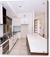 Galley Kitchen Acrylic Print